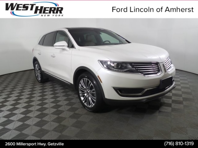Certified Pre-Owned 2016 Lincoln MKX Reserve SUV Getzville NY