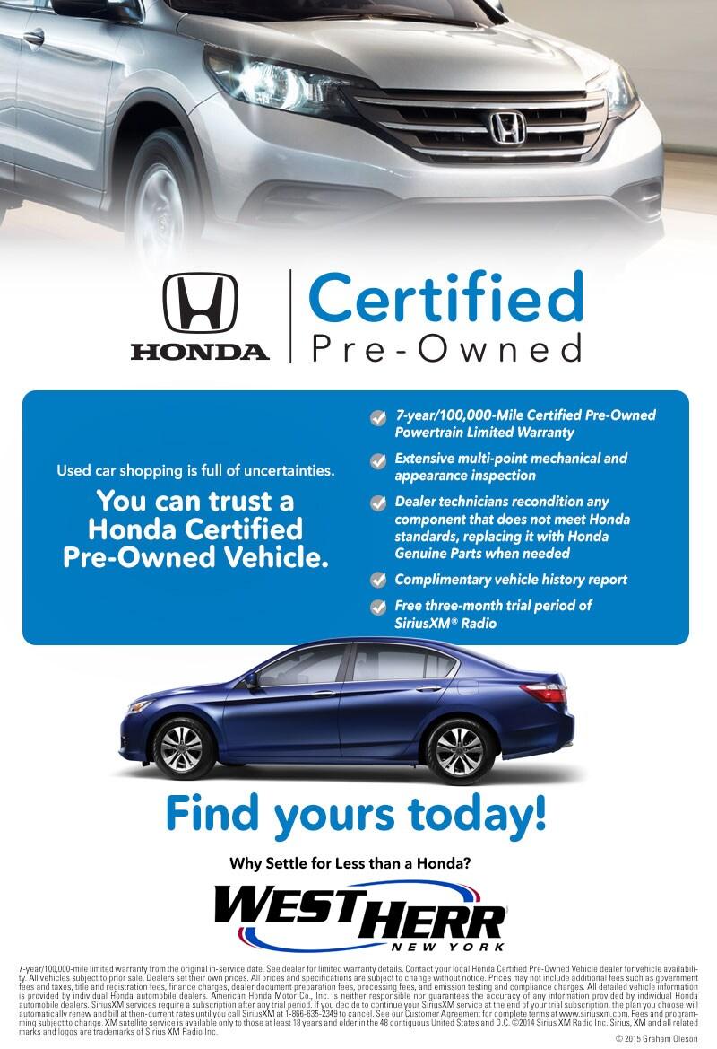 Honda Certified Preowned. Website ...