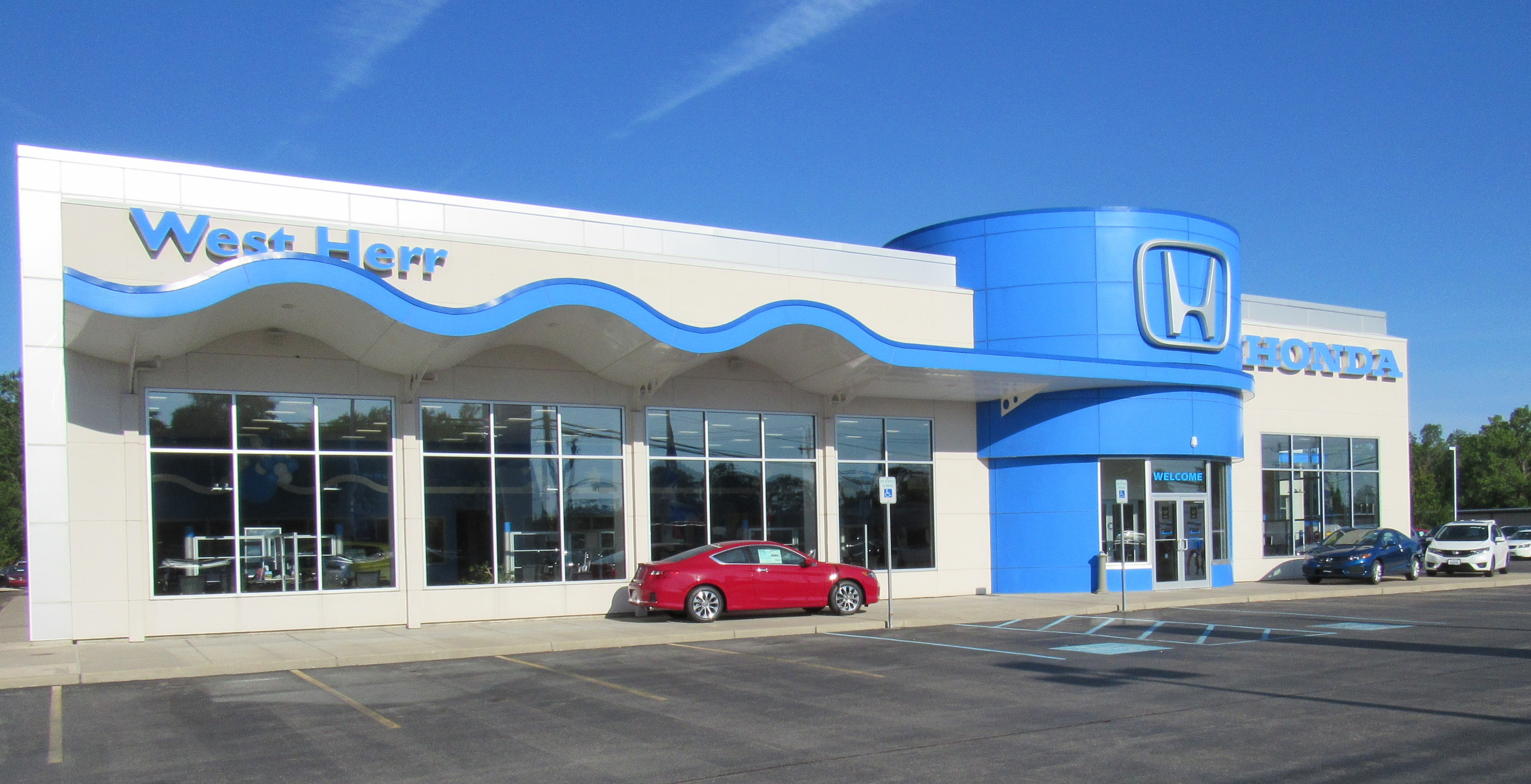 Buy or lease at west herr honda in lockport ny serving for Honda dealers ny