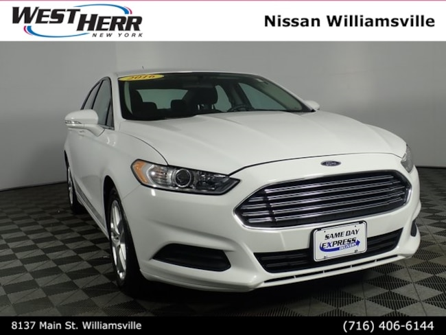 Used 2016 Ford Fusion SE Sedan NW19P214 For Sale Rochester, NY