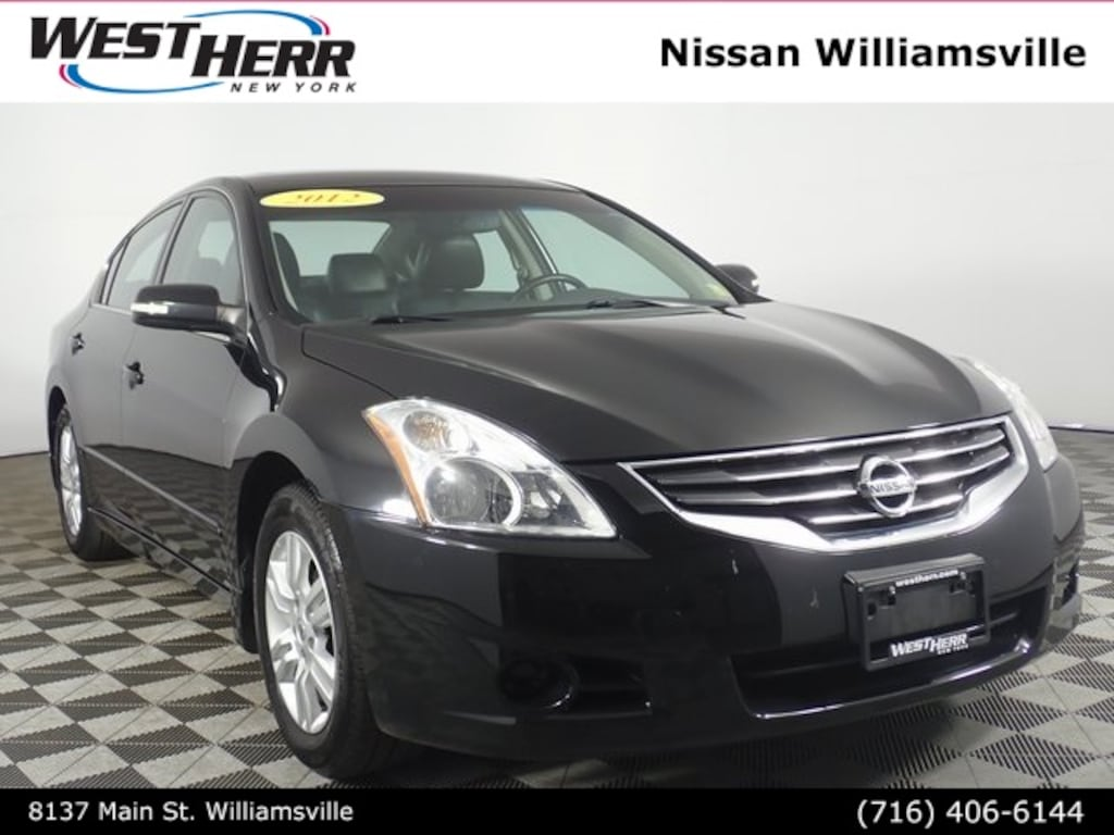 2012 Nissan Altima For Sale >> Used 2012 Nissan Altima For Sale In The Buffalo Ny Area West Herr Auto Group Nw19r323a