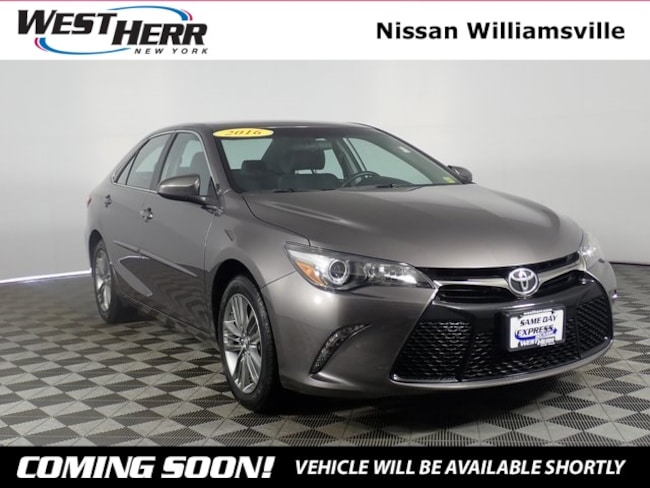 Used 2016 Toyota Camry SE Sedan for sale in Getzville, NY