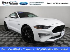 Certified Pre-Owned 2019 Ford Mustang GT Premium COUPE FRF190711A in Rochester, NY