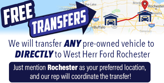 West Herr Used Cars >> Used Vehicles For Sale Rochester Ny West Herr Ford Of