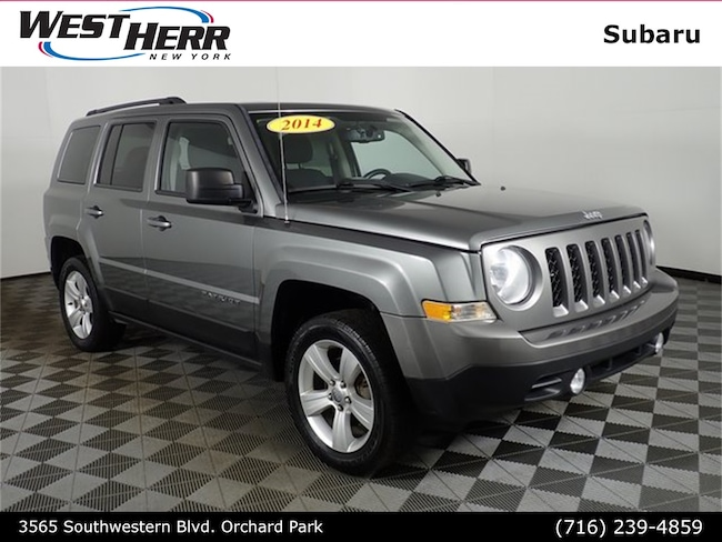 Used 2014 Jeep Patriot Latitude 4x4 SUV near Buffalo