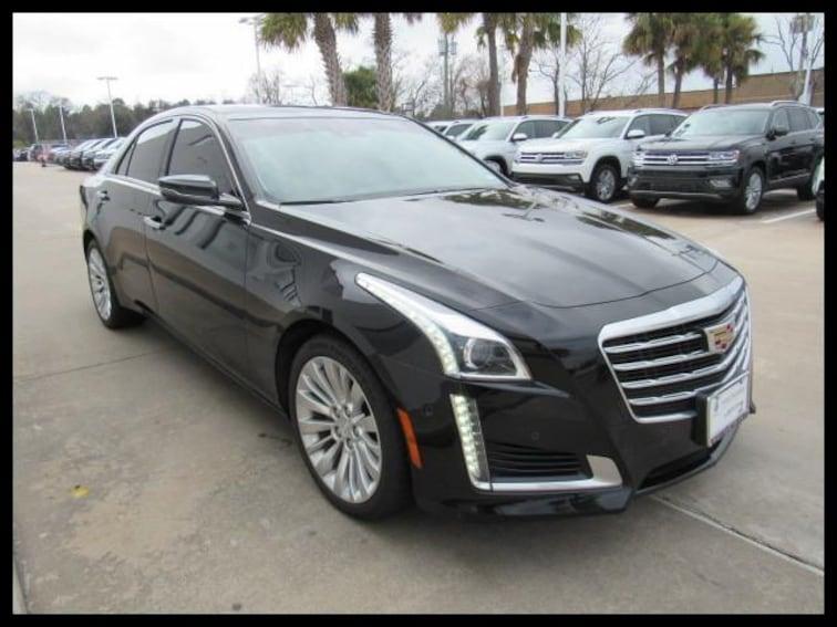 Used 2017 Cadillac CTS Sedan 3.6L Premium Luxury AWD Sedan 79242A in Houston, TX