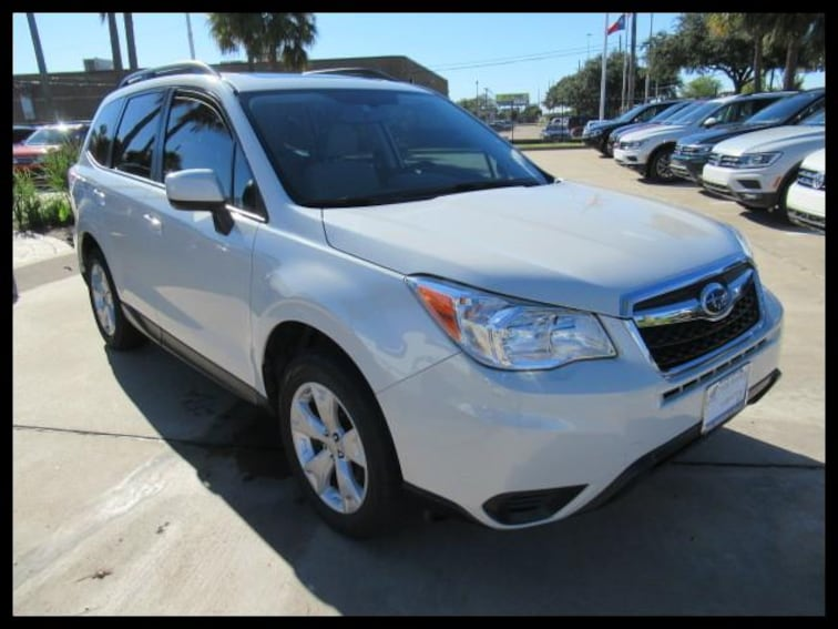 Certified Used 2016 Subaru Forester CVT 2.5i Premium Pzev SUV 49062A in Houston, TX