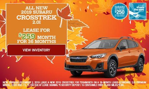 All New 2019 Subaru Crosstrek 2.0i