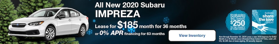 All New 2020 Subaru Impreza