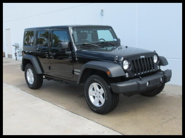 Used 2016 Jeep Wrangler Unlimited 4WD Sport SUV In Houston, TX