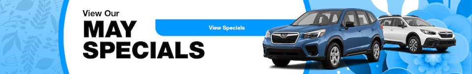View Our May Specials