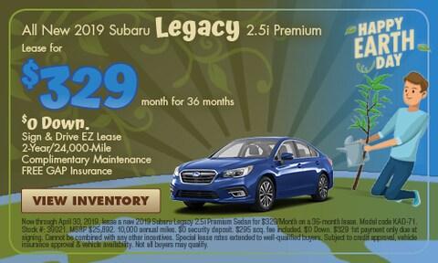All New 2019 Subaru Legacy 2.5i Premium