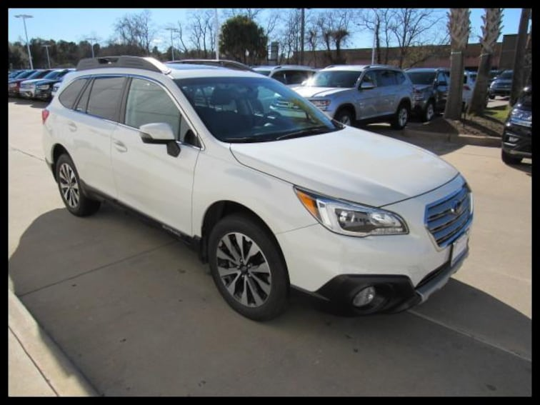 Certified Pre-Owned 2017 Subaru Outback 2.5i Limited SUV 79175A in Houston, TX