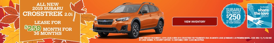 All New 2019 Subaru Crosstrek 2.0i