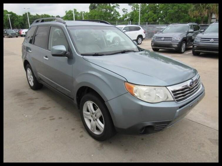 Used 2009 Subaru Forester Auto X w/Premium Pkg SUV 49344A in Houston, TX