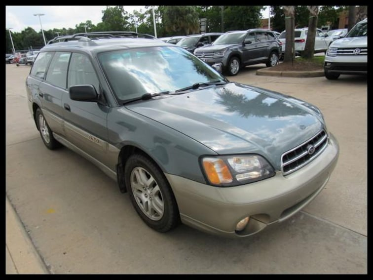 Used 2002 Subaru Legacy Wagon Outback Auto Wagon 49395A in Houston, TX