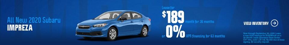 All New 2020 Subaru Impreza