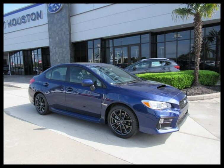 New 2019 Subaru WRX Premium (M6) Sedan in Houston, TX