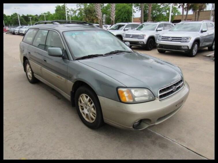 Used 2002 Subaru Legacy Wagon Outback H6 L.L. Bean Edition Wagon 29257A in Houston, TX