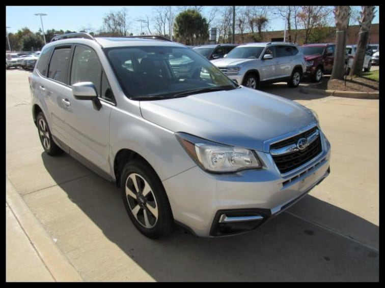 Certified Used 2017 Subaru Forester 2.5i Premium CVT SUV 49094A in Houston, TX