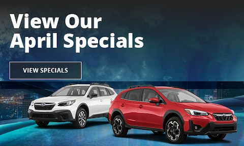 View Our April Specials