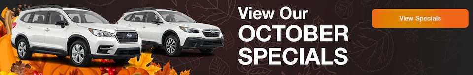 View Our October Specials