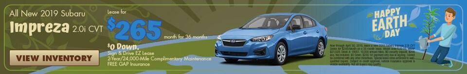 All New 2019 Subaru Impreza 2.0i CVT