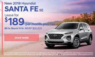 July | 2019 Hyundai Santa Fe
