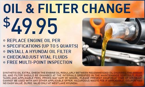Service | Oil & Filter Change