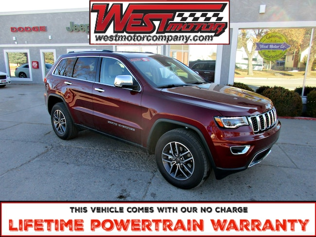 New 2019 Jeep Grand Cherokee Limited 4X4 SUV near Logan UT