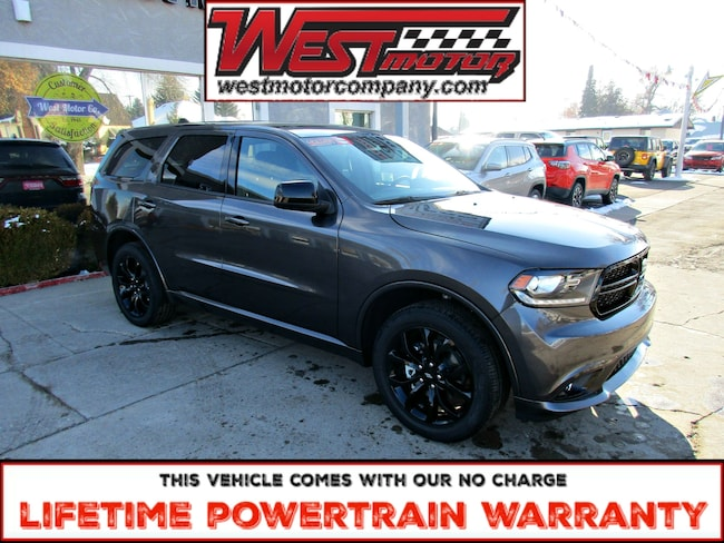 New 2019 Dodge Durango SXT Plus AWD SUV near Logan UT