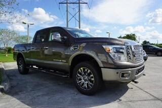 New Commercial 2019 Nissan Titan XD Platinum Reserve Diesel Truck Crew Cab K518075 in Davie, FL