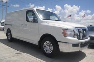 New Commercial 2018 Nissan NV Cargo NV3500 HD SL V8 Van Cargo Van J809238 in Davie, FL