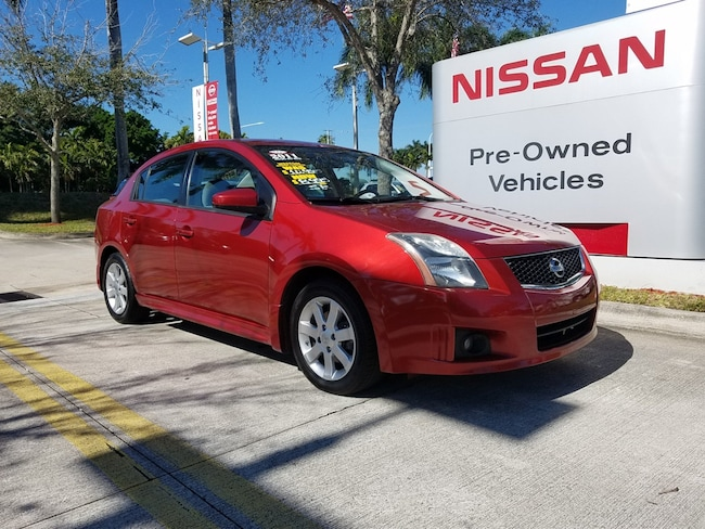 used 2011 nissan sentra 4dr sdn i4 cvt 2.0 sr for sale in the ft