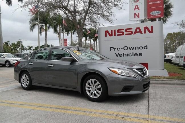 2017 Nissan Altima 2.5 S Sedan Car in Davie, FL