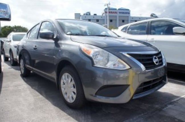 new 2019 Nissan Versa S Manual Car for sale in Ft Lauderdale