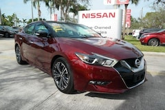 certified used 2016 Nissan Maxima 4dr Sdn 3.5 Platinum Car for sale in Ft Lauderdale