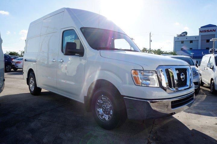 2018 Nissan NV Cargo NV2500 HD Full-size Cargo Van