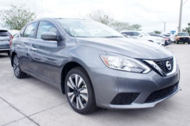 new 2019 Nissan Sentra SV CVT Car for sale in Ft Lauderdale