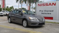 used 2015 Nissan Sentra 4dr Sdn I4 CVT SV Car for sale in Ft Lauderdale