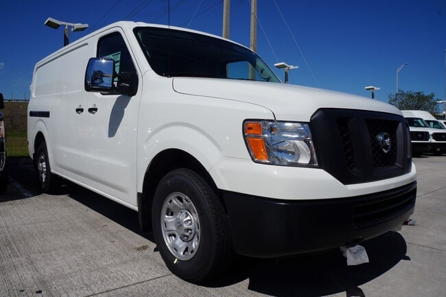 new 2018 Nissan NV Cargo NV3500 HD NV3500 HD Standard Roof V8 SV Full-size Cargo Van for sale in Ft Lauderdale