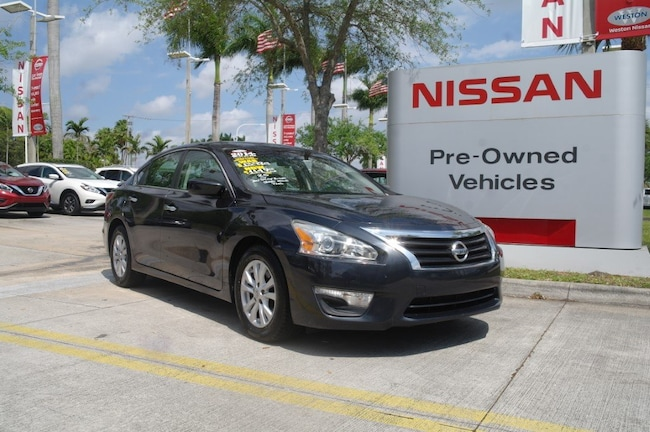 certified used 2014 Nissan Altima 4dr Sdn I4 2.5 S Car for sale in Ft Lauderdale