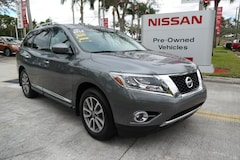 certified used 2015 Nissan Pathfinder 2WD 4dr SL Sport Utility for sale in Ft Lauderdale