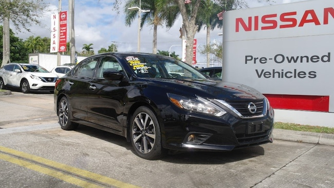 certified used 2016 Nissan Altima 4dr Sdn I4 2.5 SR Car for sale in Ft Lauderdale