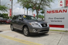 certified used 2016 Nissan Pathfinder 2WD 4dr SL Sport Utility for sale in Ft Lauderdale