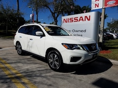 certified used 2017 Nissan Pathfinder 4x4 S Sport Utility for sale in Ft Lauderdale