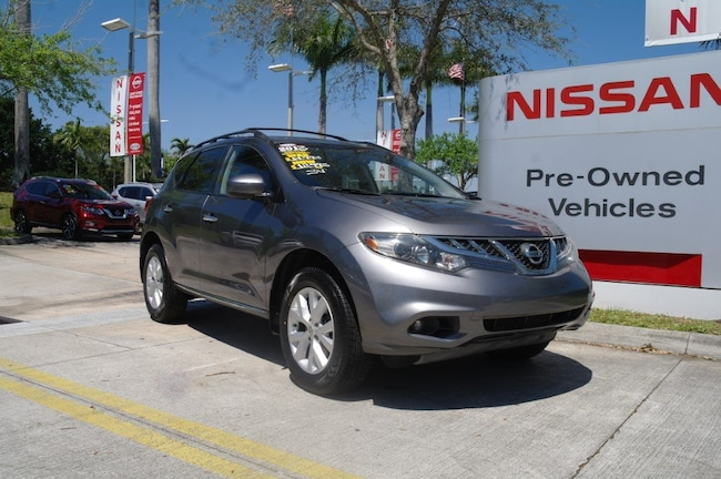 certified used 2013 Nissan Murano 2WD 4dr SV Sport Utility for sale in Ft Lauderdale