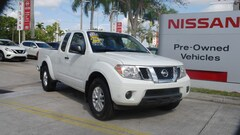 certified used 2017 Nissan Frontier King Cab 4x2 SV Auto Extended Cab Pickup for sale in Ft Lauderdale