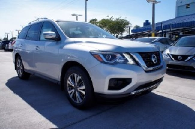 new 2019 Nissan Pathfinder FWD S Sport Utility for sale in Ft Lauderdale