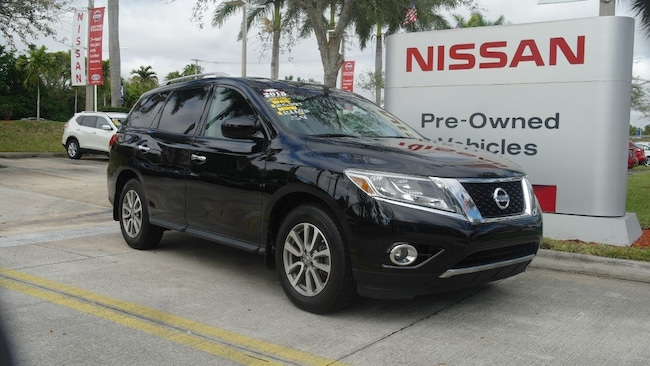 certified used 2015 Nissan Pathfinder 4WD 4dr SV Sport Utility for sale in Ft Lauderdale